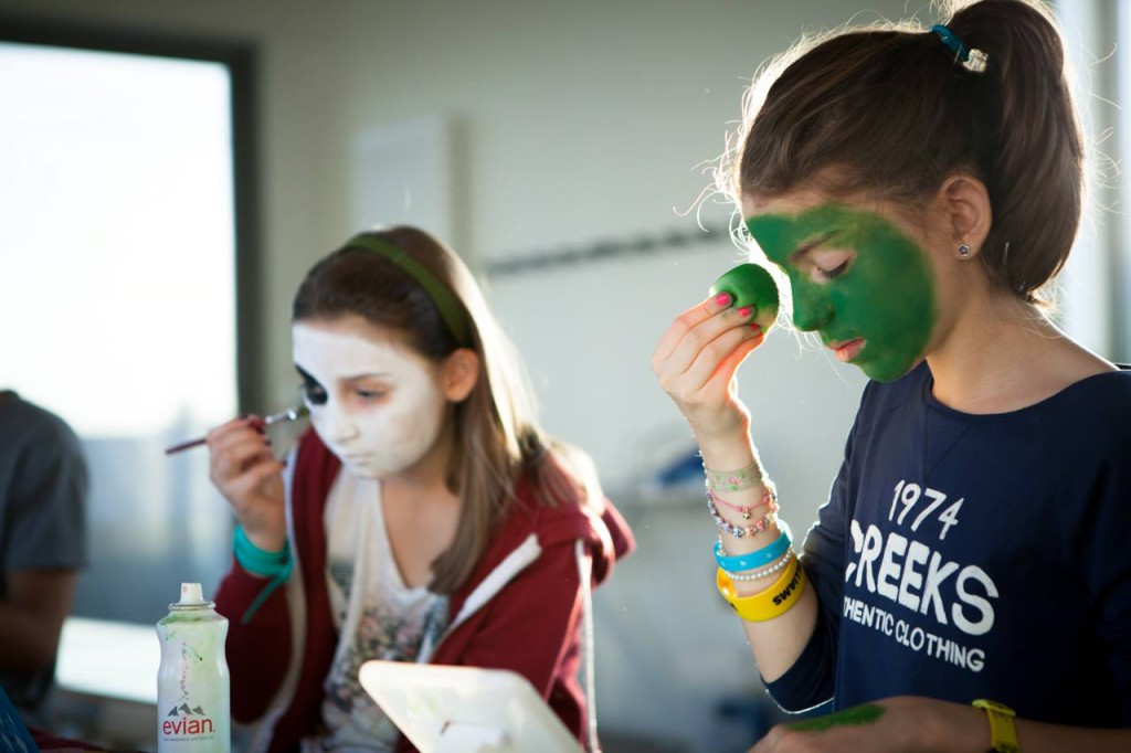 MAKEUP PAR LUCILLE Atelier d'apprentissage maquillage effets spéciaux pour les enfants  @Centre d'Animation de la Tour des Dames
