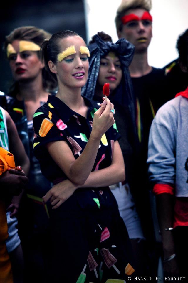 """MAKEUP PAR LUCILLE ET AUTRES  Clip Oxmo Puccino """"Artiste"""""""