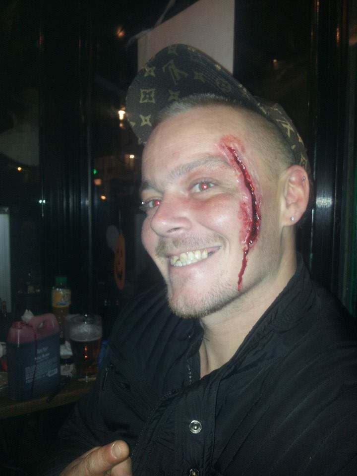 MAKEUP PAR LUCILLE @Bar L'inévitable Soirée Halloween